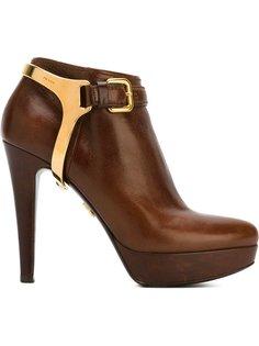 platform ankle boots Prada Vintage