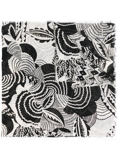 шарф с абстрактным принтом Polo Ralph Lauren