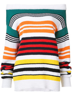 striped bardot sweater  Rosie Assoulin