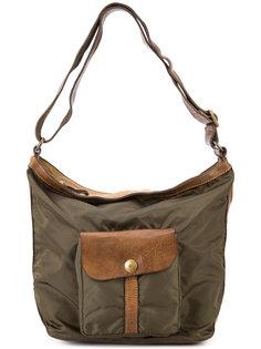 сумка на плечо с передним карманом Campomaggi