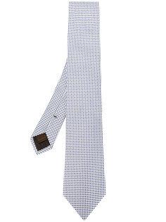 галстук с геометрическим узором Churchs