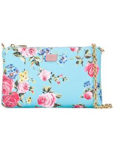 сумка с цветочным узором Dolce & Gabbana