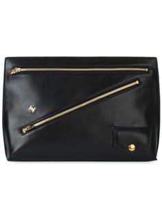 zip detail clutch Astraet