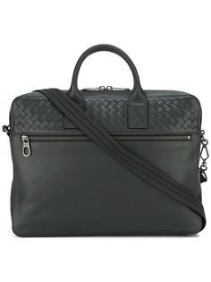портфель с плетеный дизайном Bottega Veneta