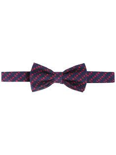 anchor print bow tie Fefè