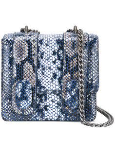 сумка на плечо с эффектом змеиной кожи  Antonio Marras