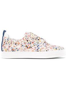splatter print slip-on sneakers Pierre Hardy