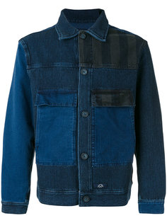 double pocket denim jacket Bleu De Paname