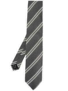 галстук с двойными полосками Tom Ford