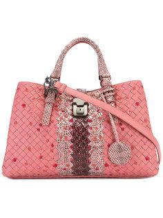 сумка-тоут с вышивкой Bottega Veneta