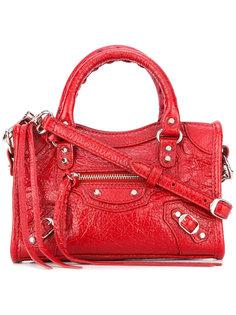 сумка с фактурной выделкой Balenciaga