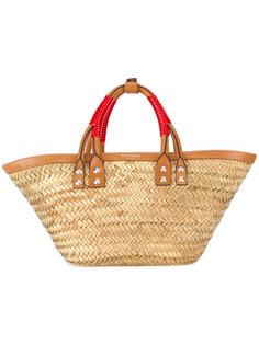 плетеная сумка-тоут  Balenciaga