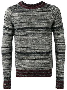 полосатый свитер Dries Van Noten