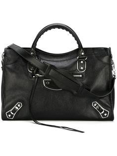 сумка на плечо Classic Metallic Edge City Balenciaga