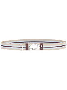 полосатый ремень Prada