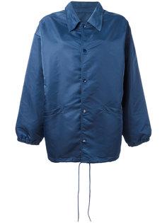 свободная куртка в стиле рубашки Balenciaga