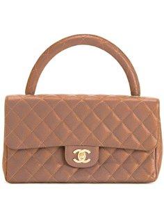 сумка с круглой ручкой Chanel Vintage