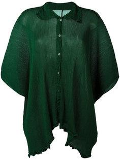 рубашка с оборчатой отделкой Issey Miyake Cauliflower