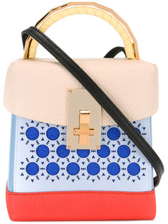 colour block mini tote The Volon
