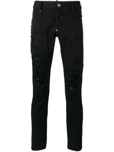 distressed skinny jeans Philipp Plein