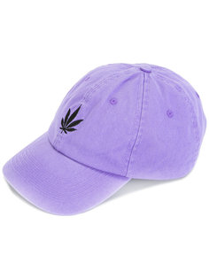 logo embroidered cap Palm Angels