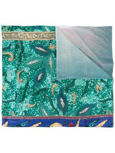 шарф с полосками и изображением дракона Pierre-Louis Mascia