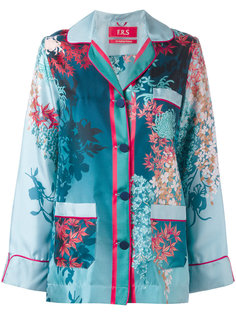botanical print shirt F.R.S For Restless Sleepers