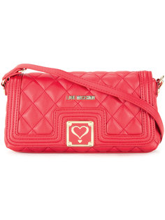 стеганая сумка на плечо Love Moschino
