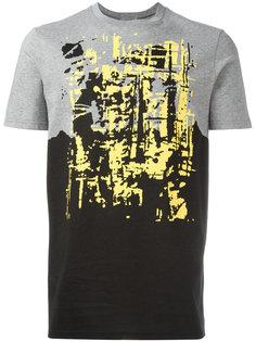 футболка с абстрактным узором Dior
