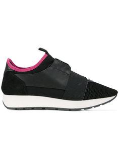 кроссовки с контрастной окантовкой Balenciaga