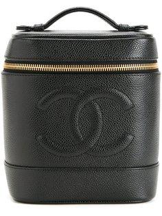 сумка с логотипом СС Chanel Vintage