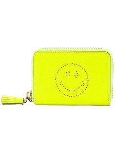 кошелек с круговой застежкой-молнией Smiley  Anya Hindmarch