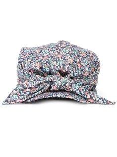 floral print hat Maison Michel