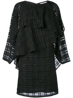 платье с каскадными оборками Chalayan