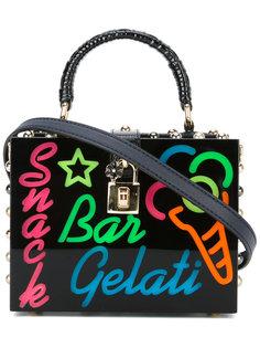 сумка Dolce с фактурной отделкой Dolce & Gabbana