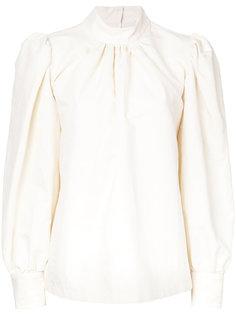 блузка с высоким воротником Dries Van Noten