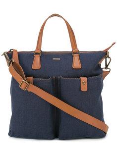 сумка-тоут с контрастной отделкой  Zanellato