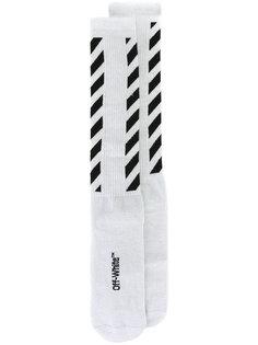 носки в полоску Off-White