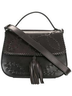 сумка через плечо с кисточкой Alberta Ferretti