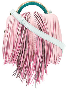 fringed crossbody bag The Volon