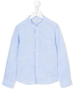 рубашка с воротником-стойкой Paolo Pecora