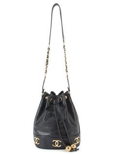 сумка на стяжке Chanel Vintage