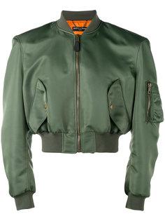 укороченная куртка-бомбер Balenciaga