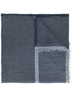 frayed scarf Ermenegildo Zegna