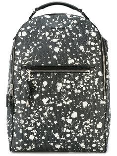 рюкзак с брызгами краски Dior Homme