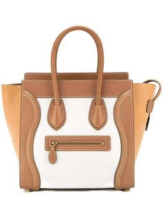 трапециевидная сумка-тоут Céline