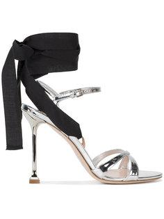 босоножки на шнуровке Miu Miu