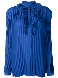 плиссированная блузка Balenciaga