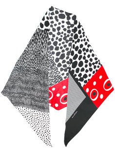 spots and stripes scarf Pierre-Louis Mascia