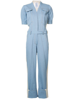 Mechanic block panel jumpsuit  Rosie Assoulin
